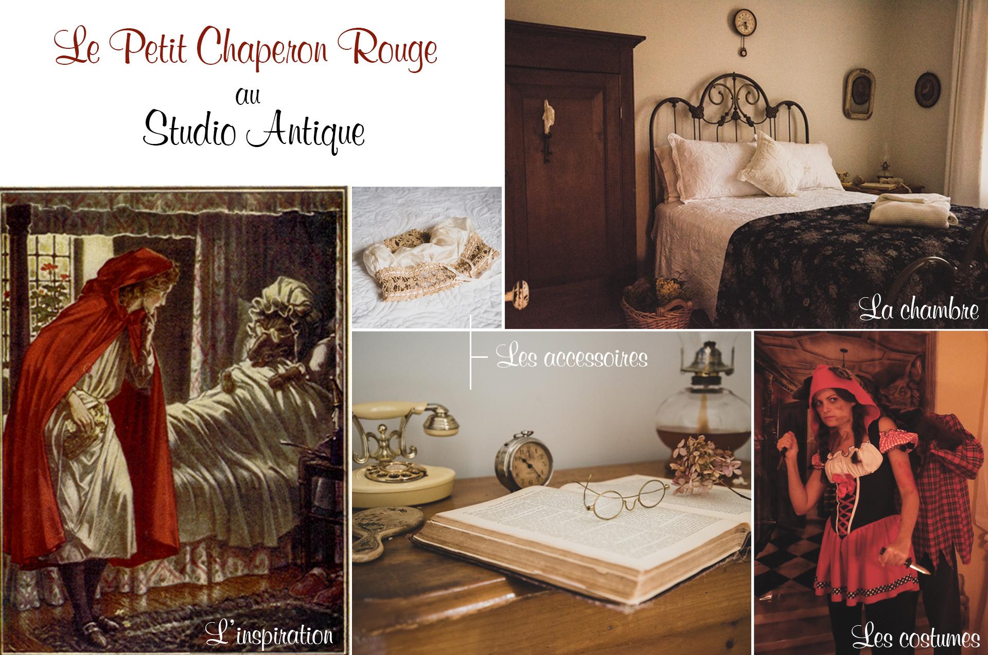 Moodboard Chaperon Rouge - Studio Antique